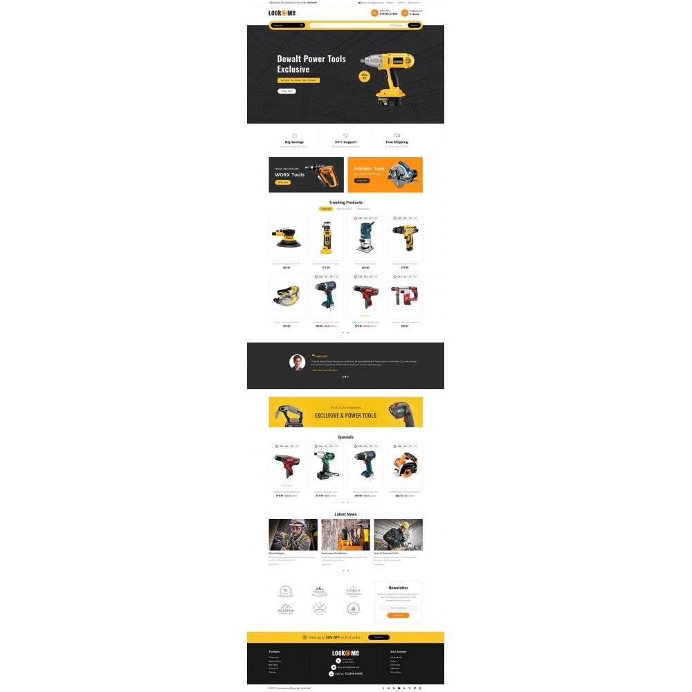 theme - Electrónica e High Tech - Look me Tools Equipment - 3
