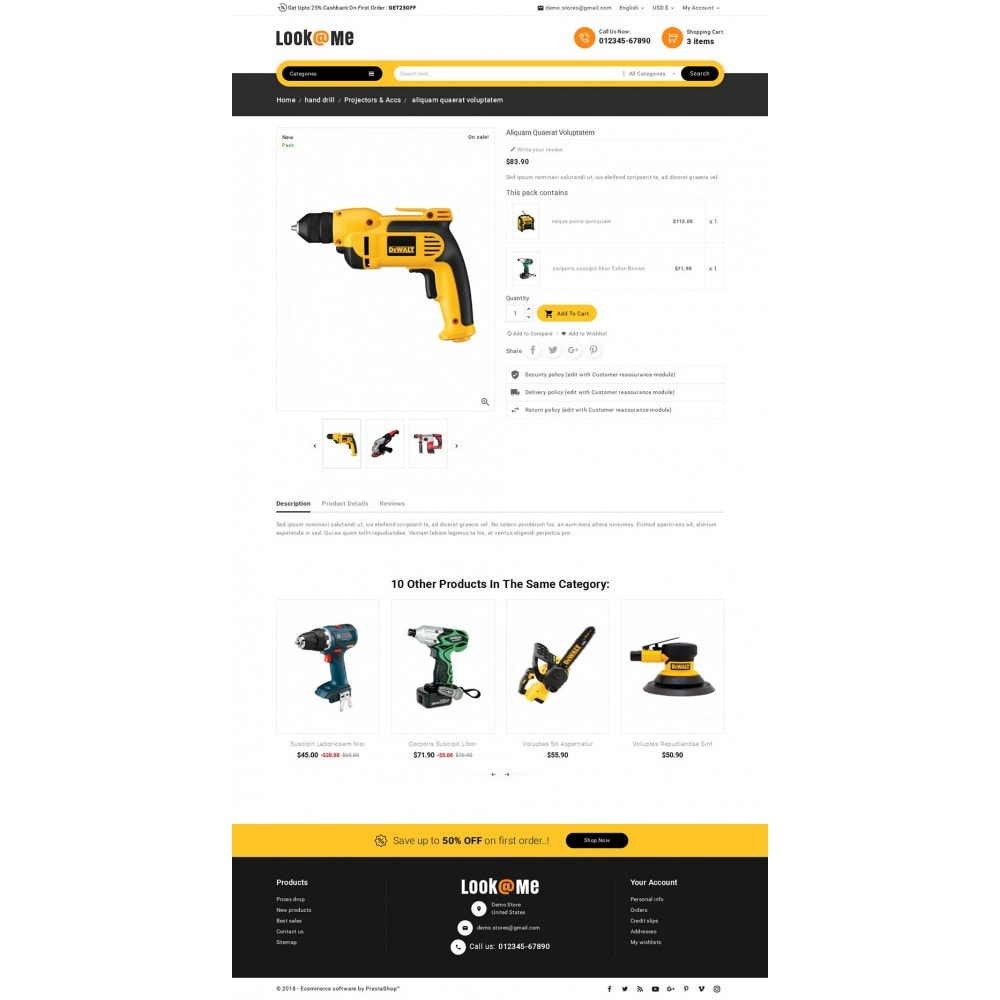 theme - Elettronica & High Tech - Look me Tools Equipment - 6