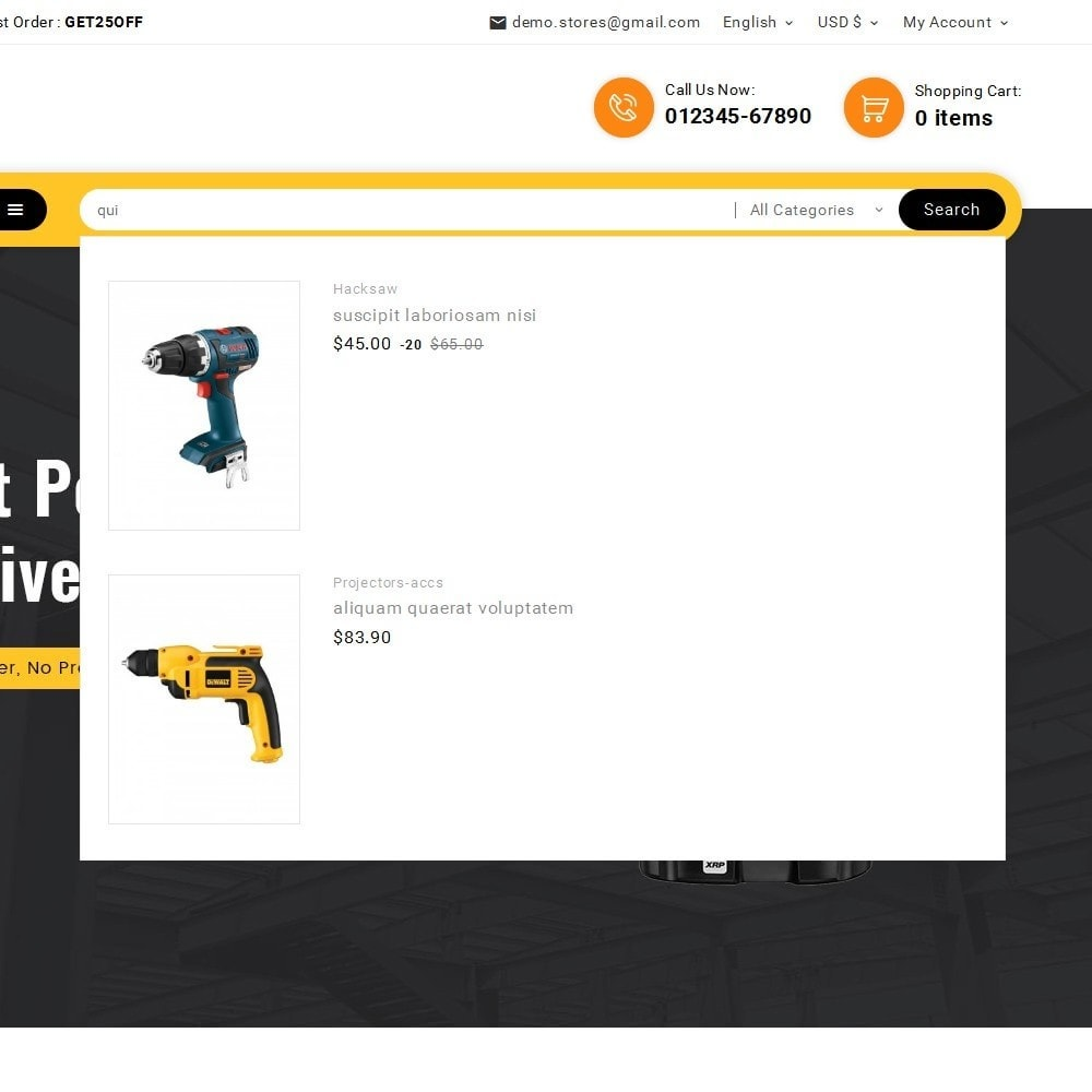 theme - Elettronica & High Tech - Look me Tools Equipment - 11