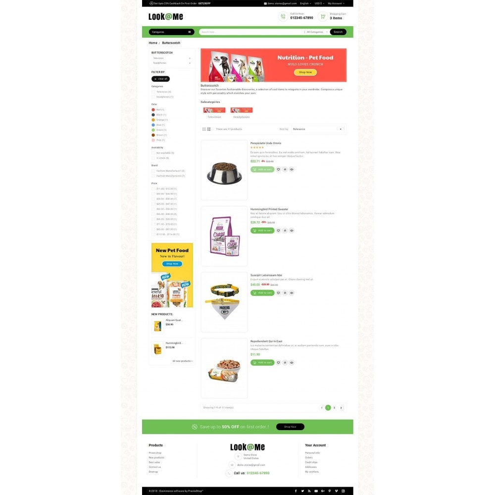 theme - Animaux - Look me Pets Store - 5