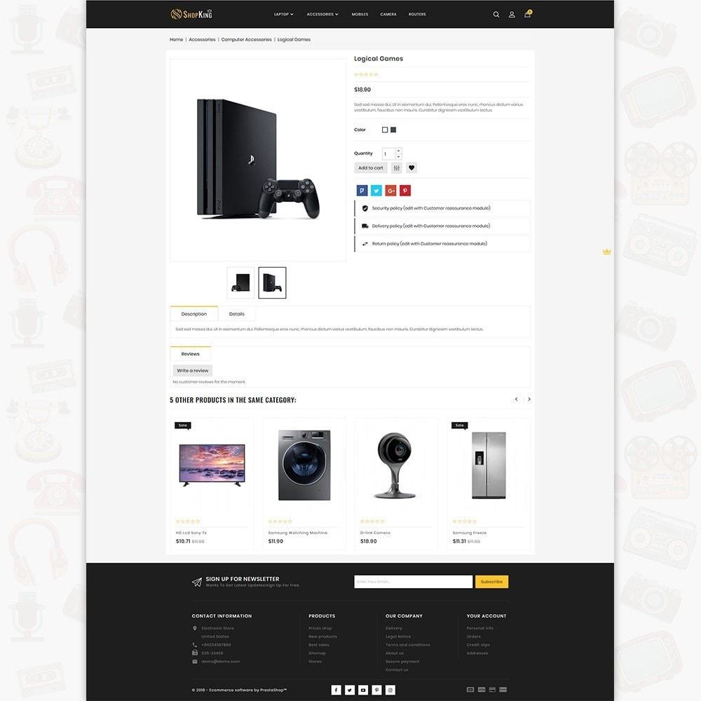 theme - Elektronica & High Tech - ShopKing - The Large Ecommerce Store - 5