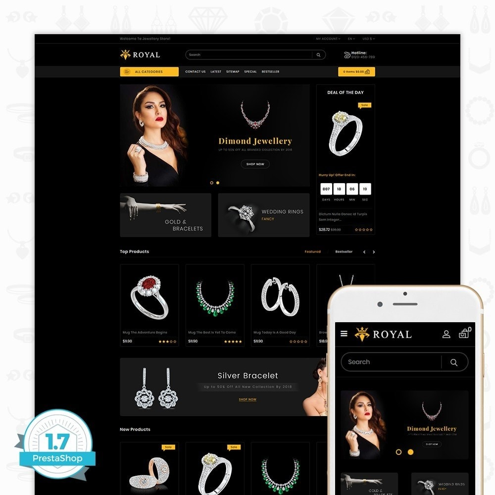 theme - Schmuck & Accesoires - Royal Jewellery Shop - 1