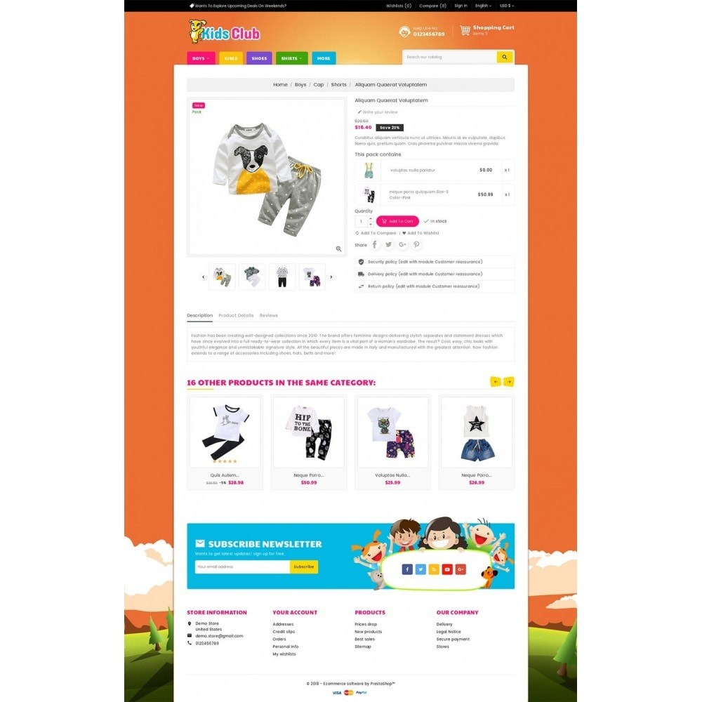 theme - Bambini & Giocattoli - Kids Fashion Club - 6