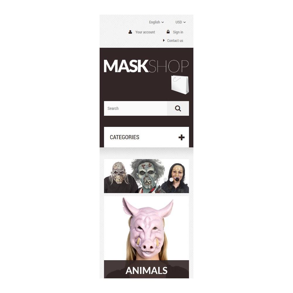 theme - Cadeaux, Fleurs et Fêtes - Masques de mascarade - 9