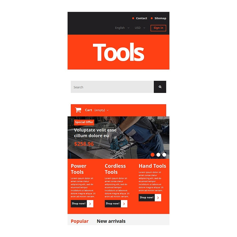 theme - Casa & Jardins - Tools and Supplies - 8