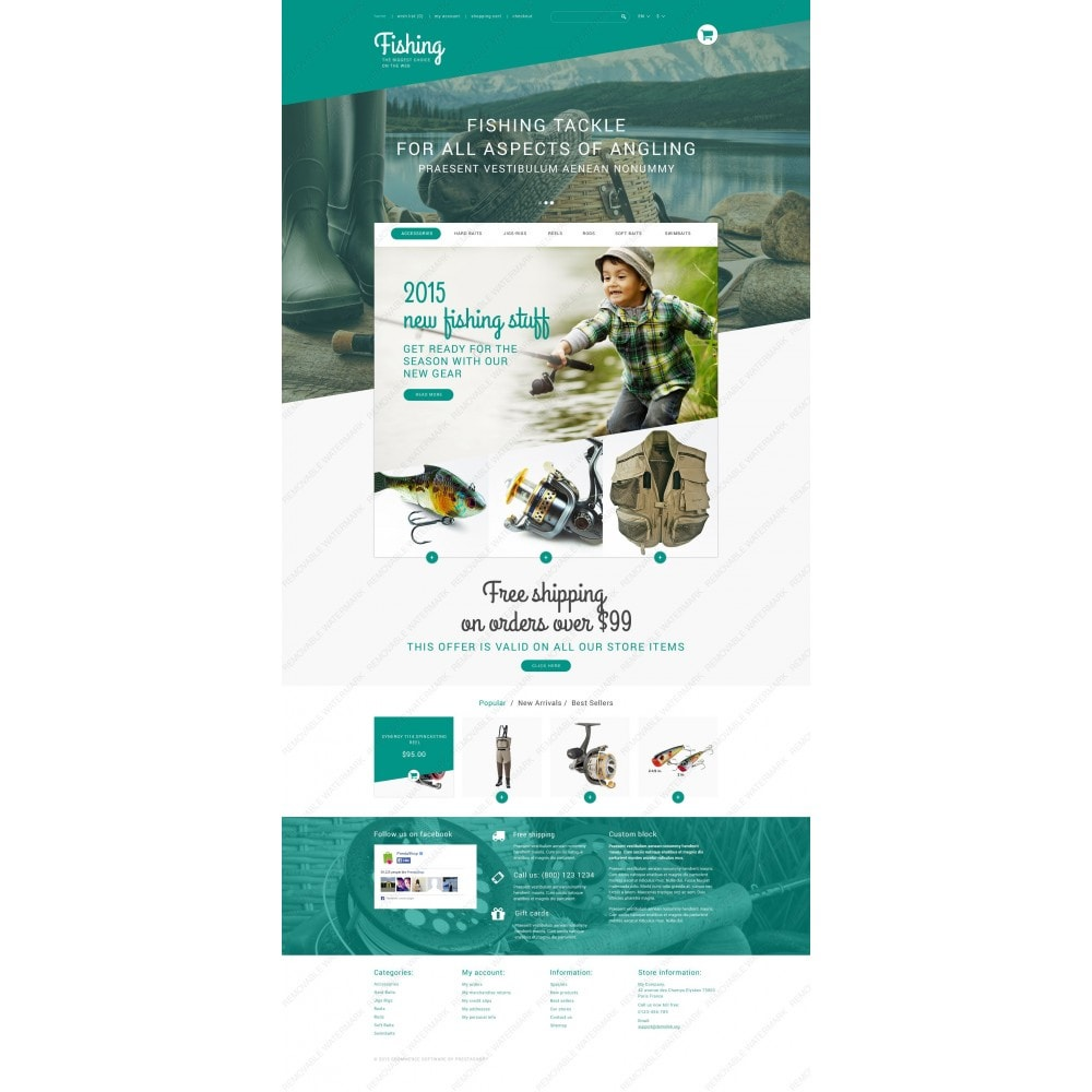 theme - Sports, Activities & Travel - Fishing Store - 3