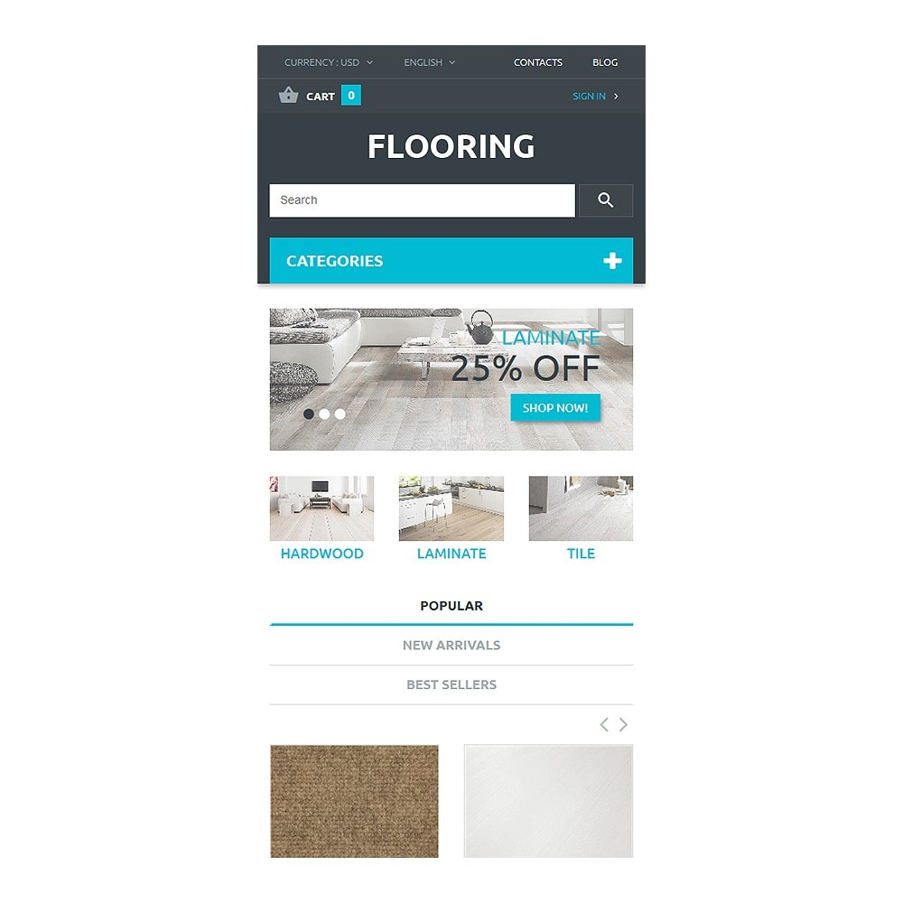 theme - Art & Culture - Flooring Store - 8