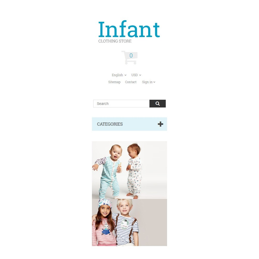 theme - Dom & Ogród - Infant Clothing Store - 9