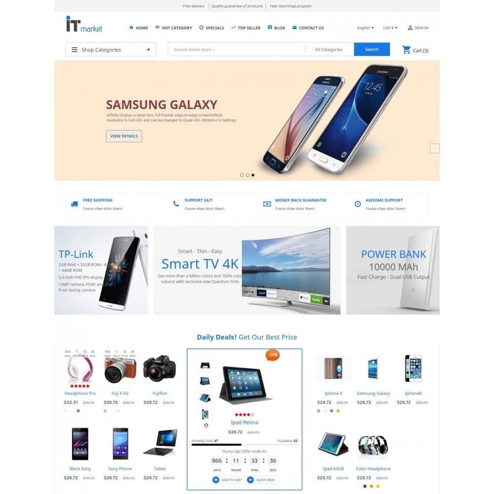 theme - Elettronica & High Tech - IT Market - 2