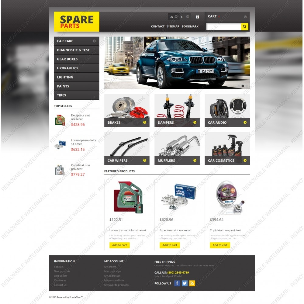 theme - Autos & Motorräder - Spares for Any Car - 3
