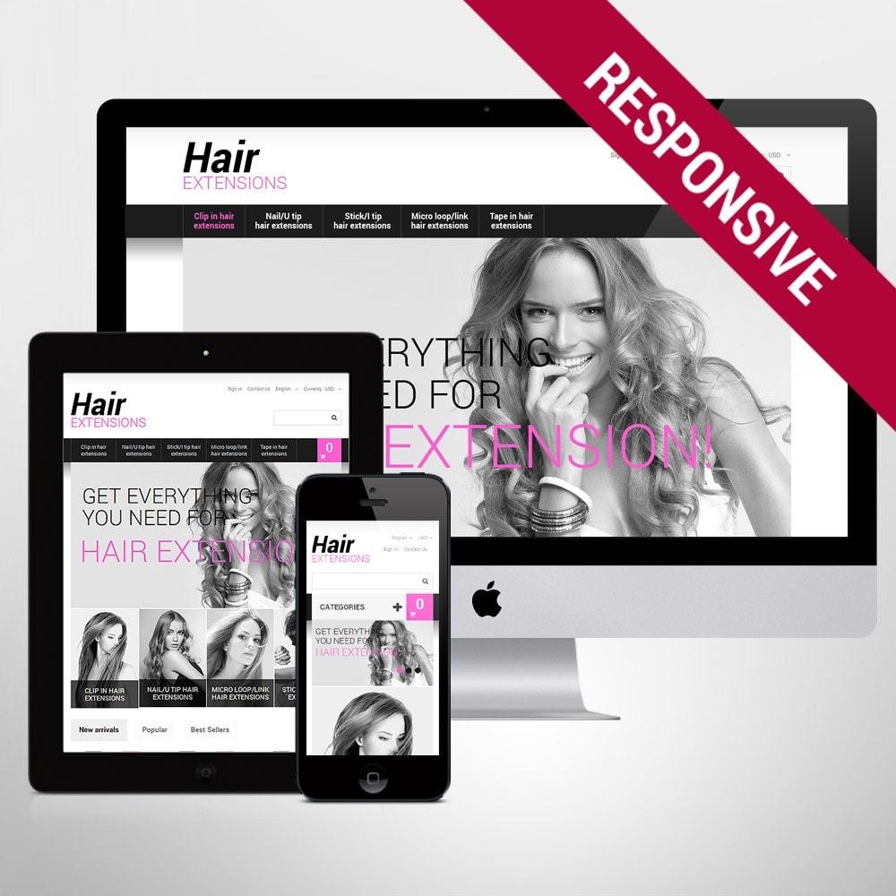theme - Moda y Calzado - Long Hair - 1