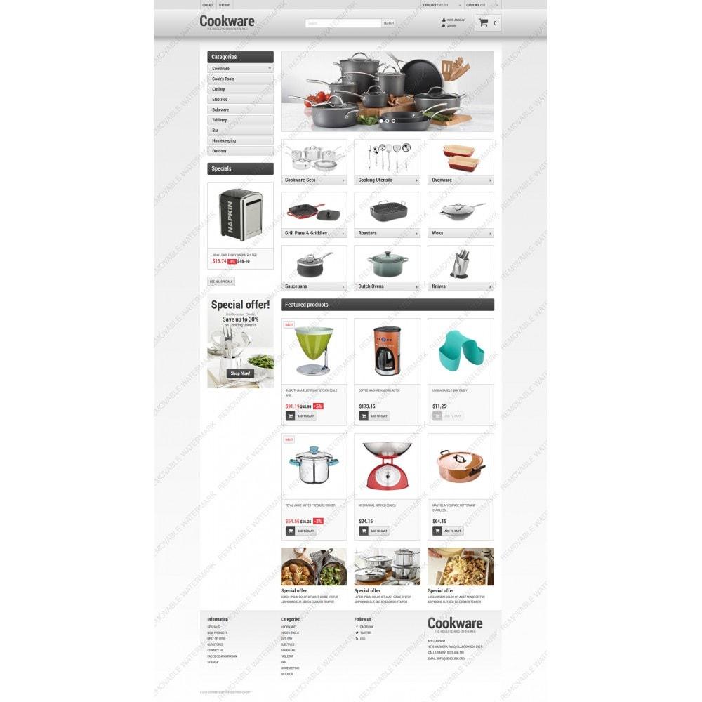 theme - Art & Culture - Kitchen Supplies Store - 3