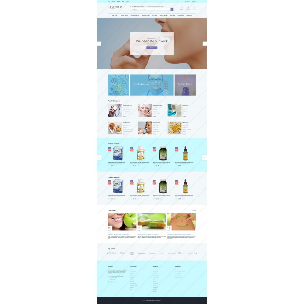 theme - Health & Beauty - Eveprest - Drugstore - 3