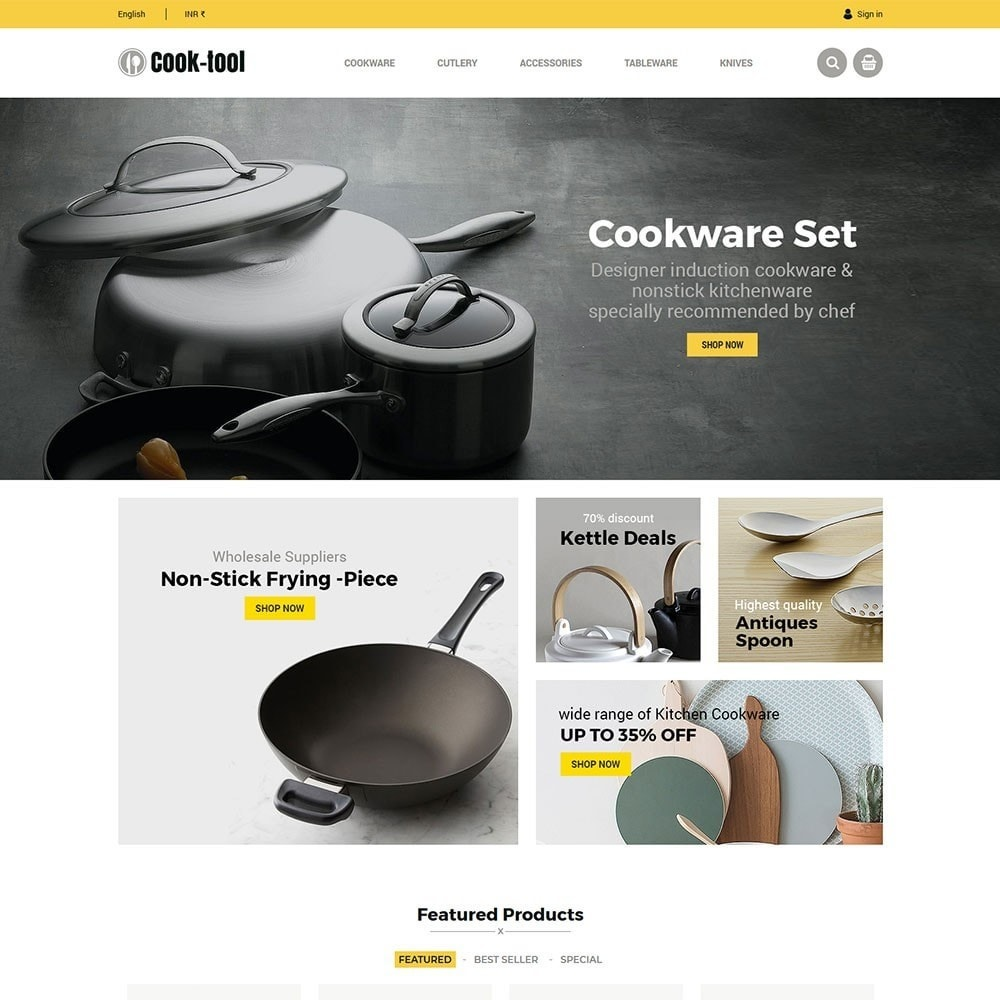 theme - Home & Garden - Cook tool - kitchen store - 2