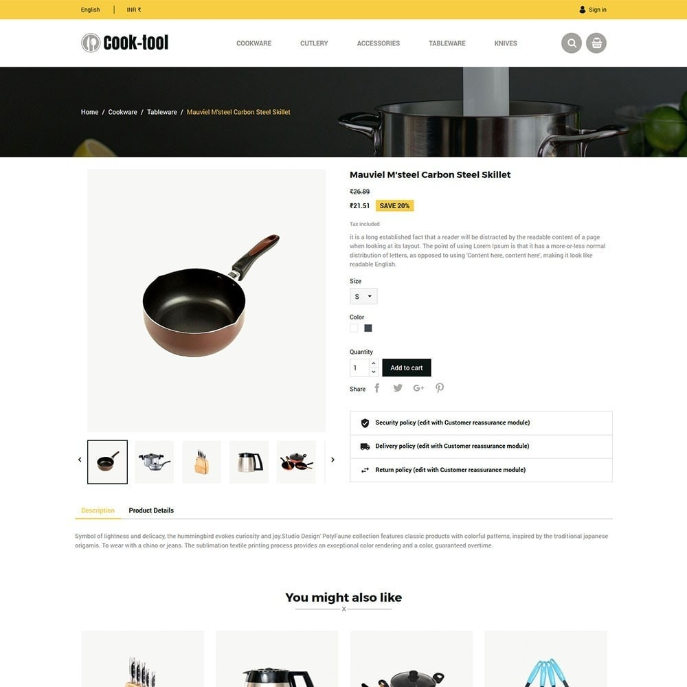 theme - Dom & Ogród - Cook tool - kitchen store - 5