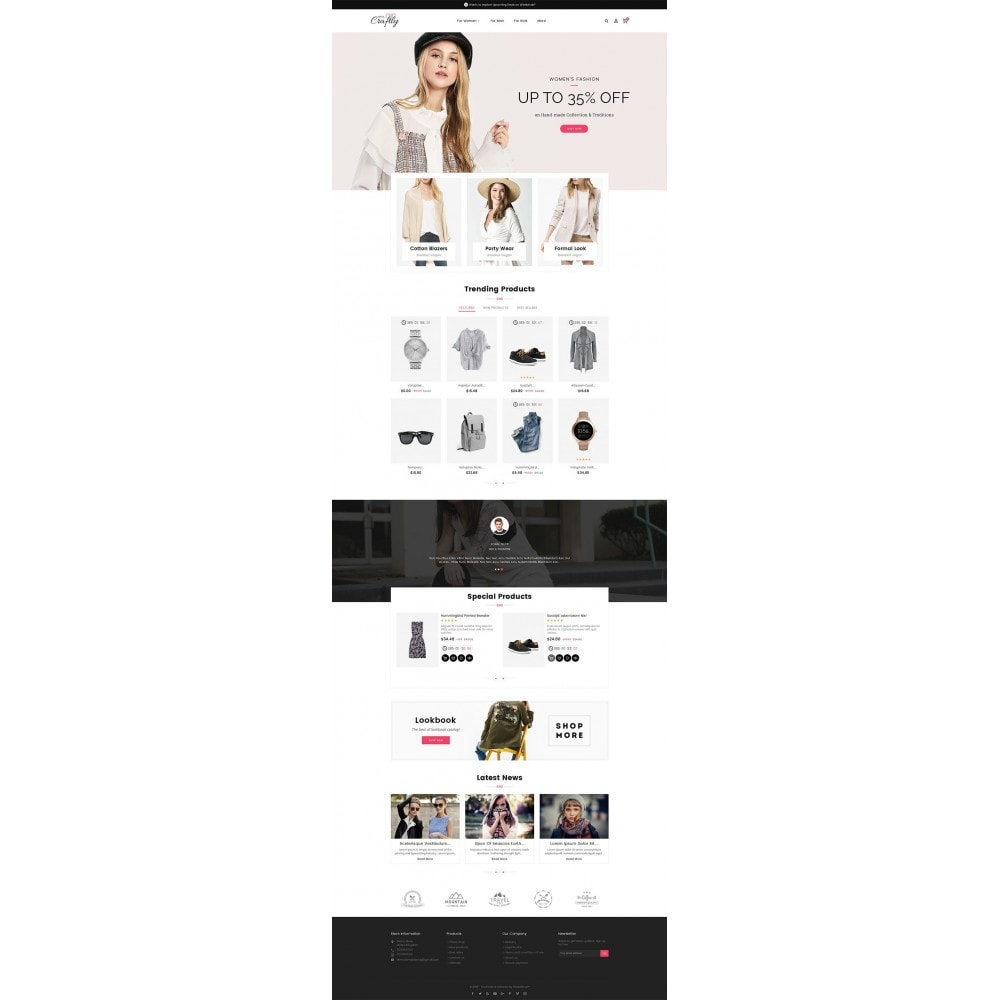 theme - Moda & Calzature - Craftly Fashion Apparels - 3