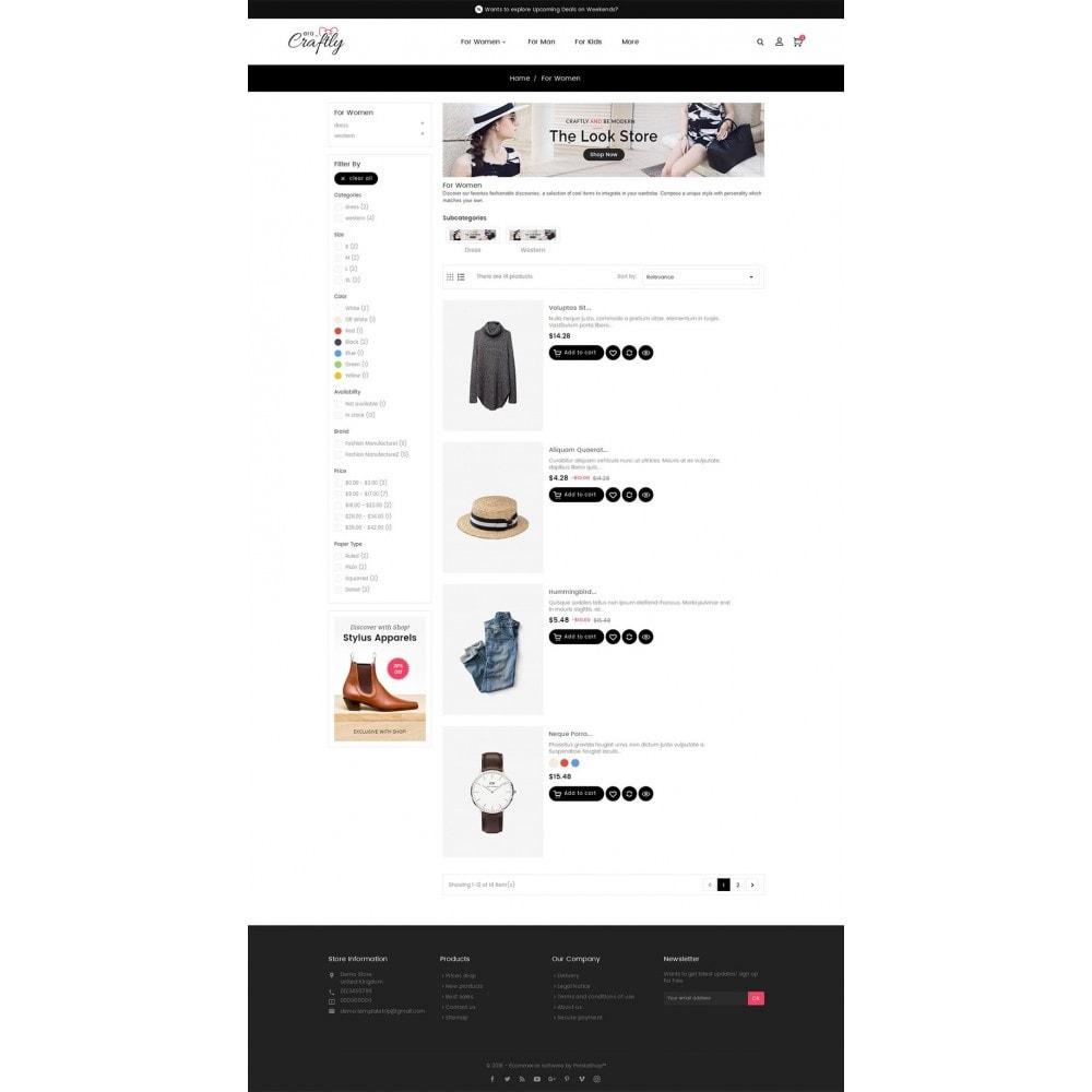theme - Moda & Calzature - Craftly Fashion Apparels - 5