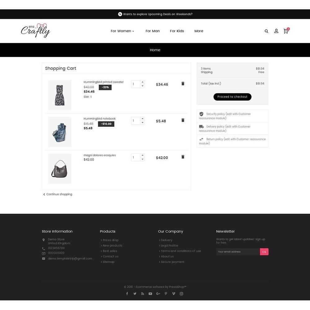 theme - Moda & Calzature - Craftly Fashion Apparels - 7