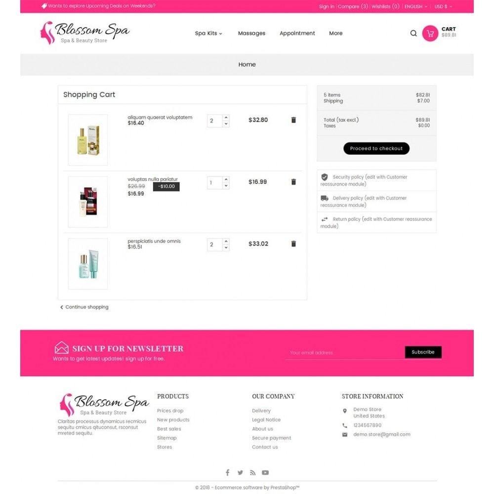 theme - Gesundheit & Schönheit - Blossom Spa - 7