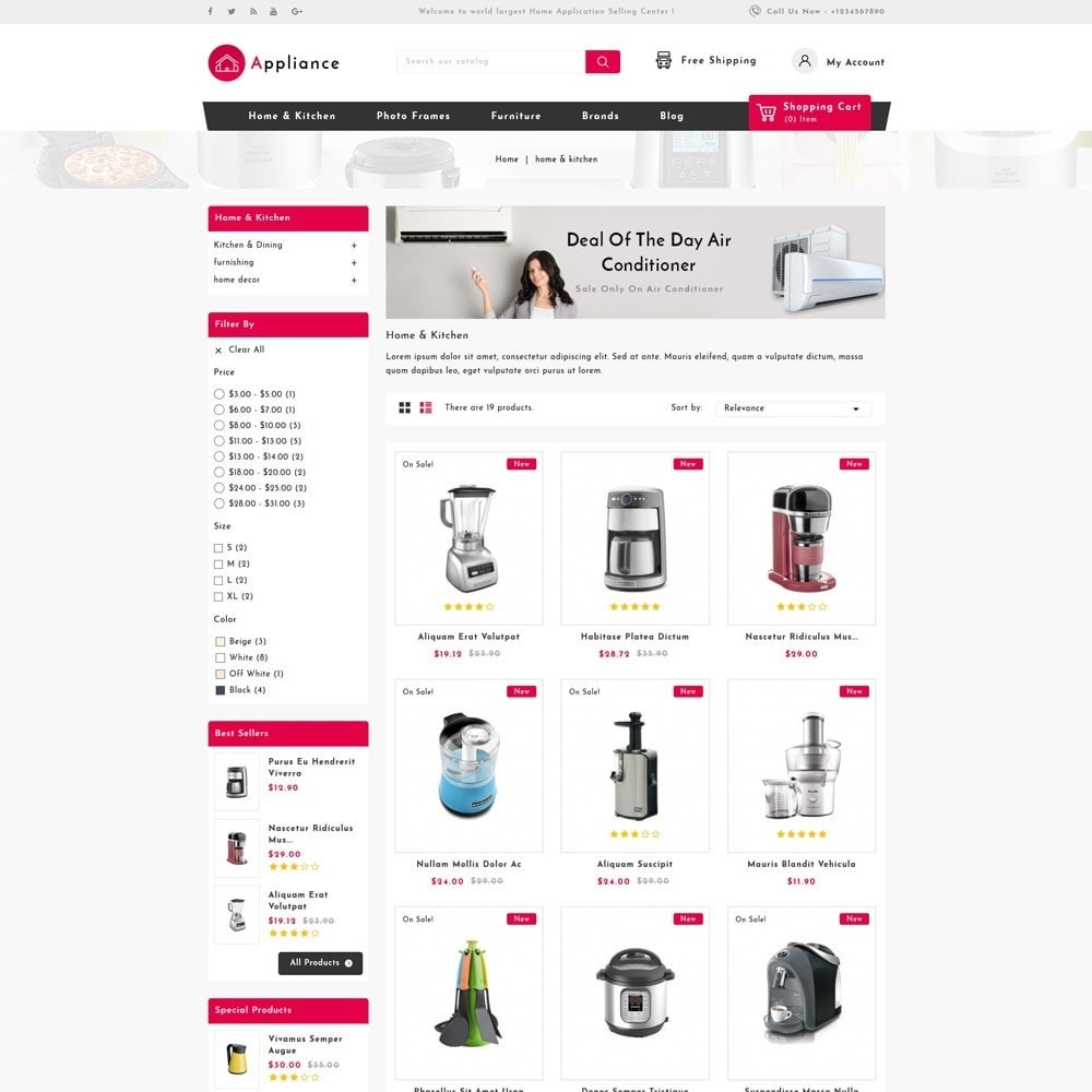 theme - Dom & Ogród - Home Appliances Store - 3
