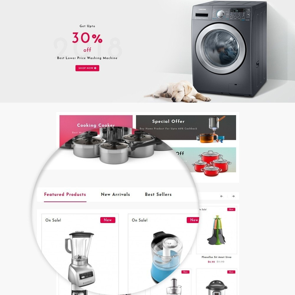 theme - Casa & Jardins - Home Appliances Store - 8