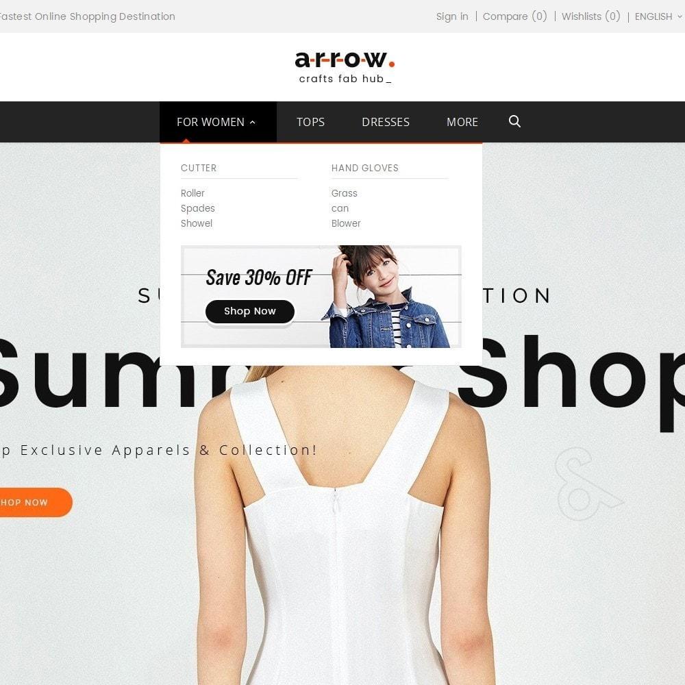 theme - Mode & Chaussures - Arrow Fashion Apparels - 10