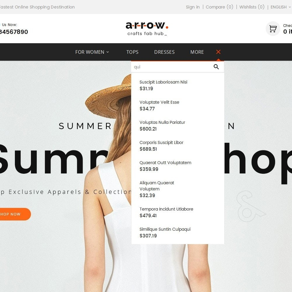 theme - Mode & Chaussures - Arrow Fashion Apparels - 11