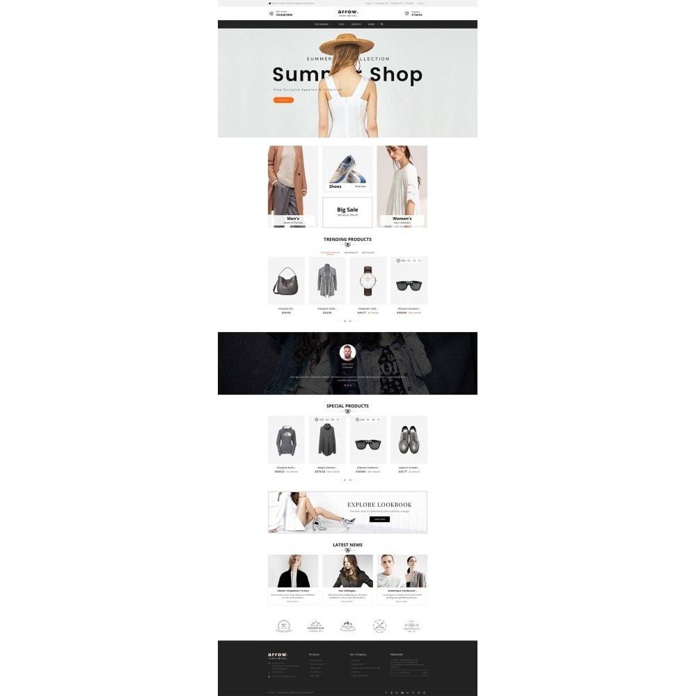 theme - Moda y Calzado - Arrow Fashion Apparels - 3