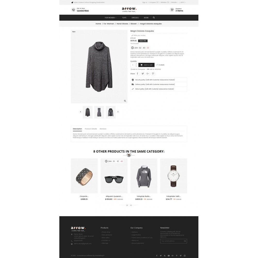 theme - Moda y Calzado - Arrow Fashion Apparels - 6