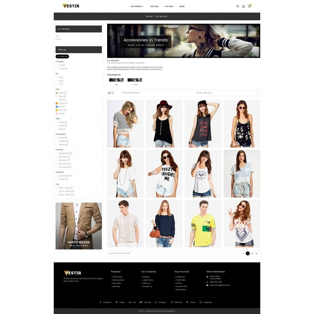 theme - Mode & Chaussures - Vestir Fashion Catalog - 4