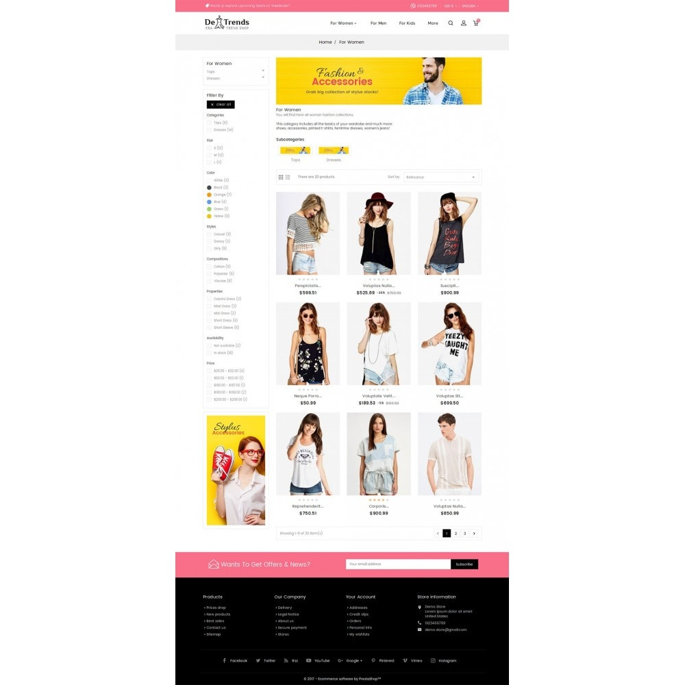 theme - Mode & Chaussures - Trends Fashion Store - 4