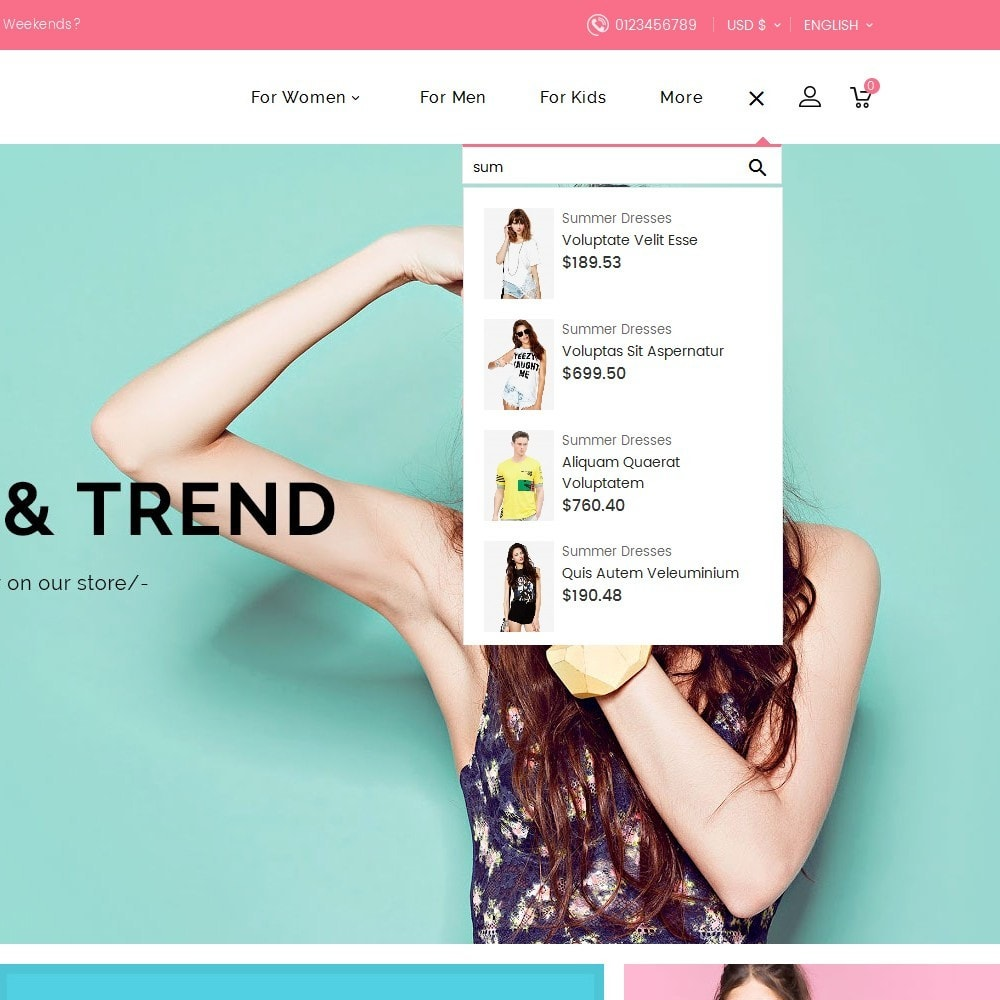 theme - Mode & Chaussures - Trends Fashion Store - 11