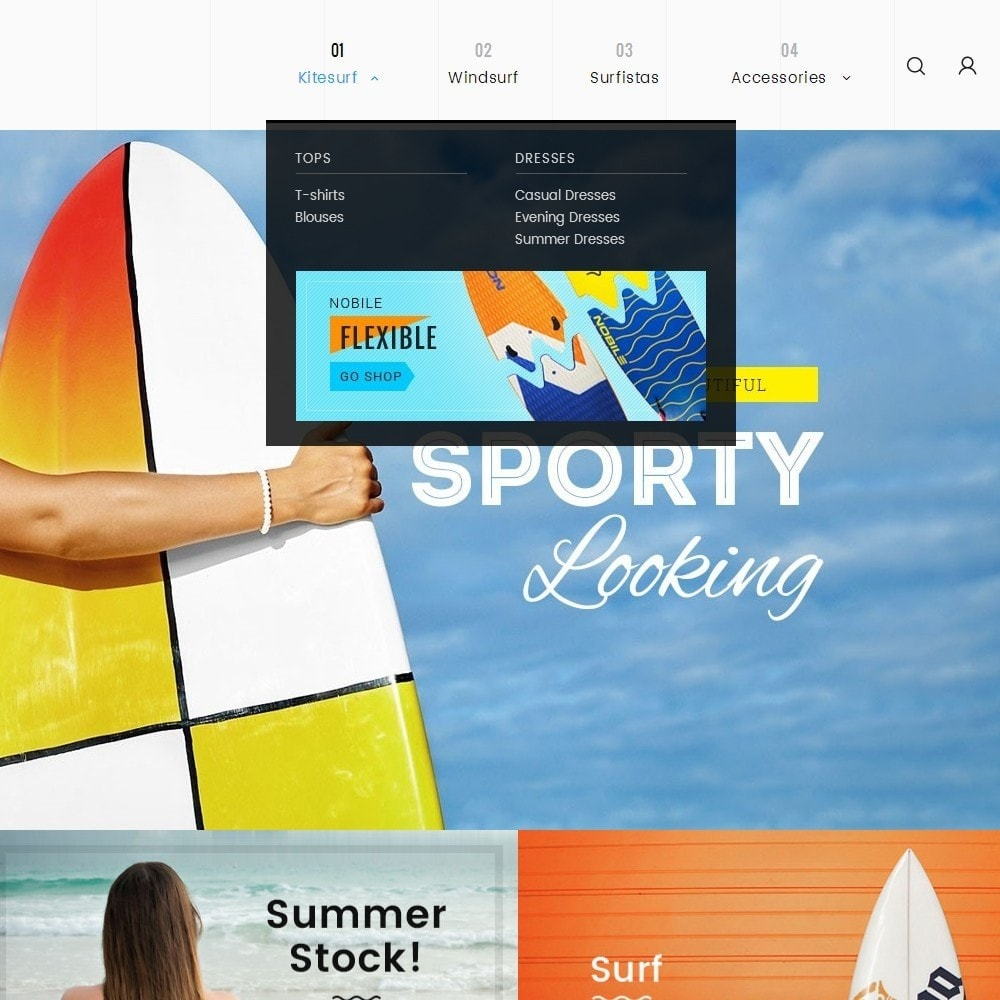 theme - Sport, Loisirs & Voyage - Surf Summer Beach - 10
