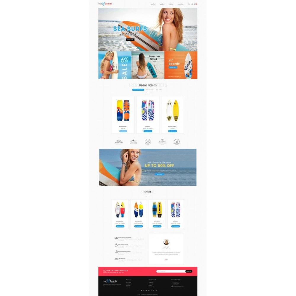 theme - Sport, Aktivitäten & Reise - Surf Summer Beach - 3