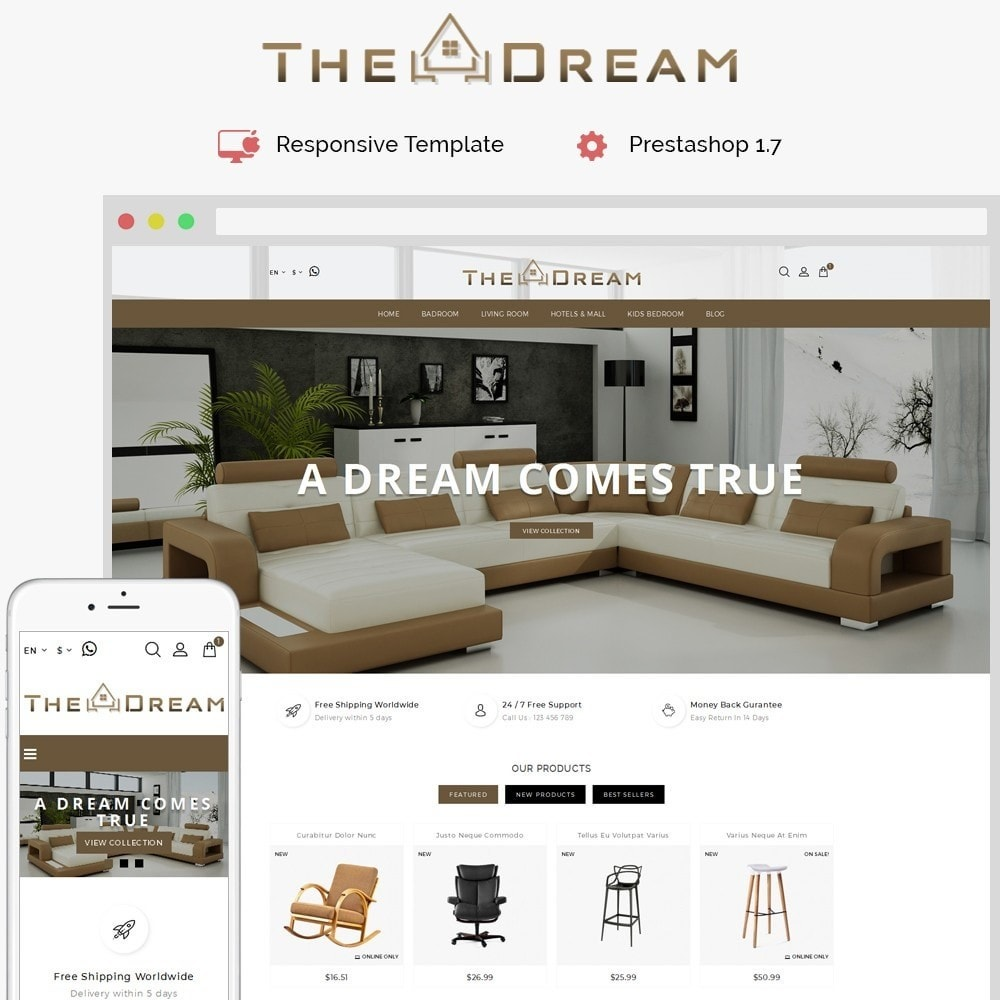 theme - Дом и сад - TheDream Furniture Store - 1