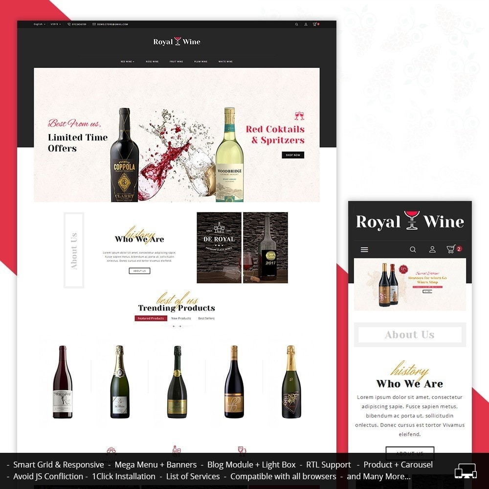 theme - Drink & Wine - Royal Wine - 2