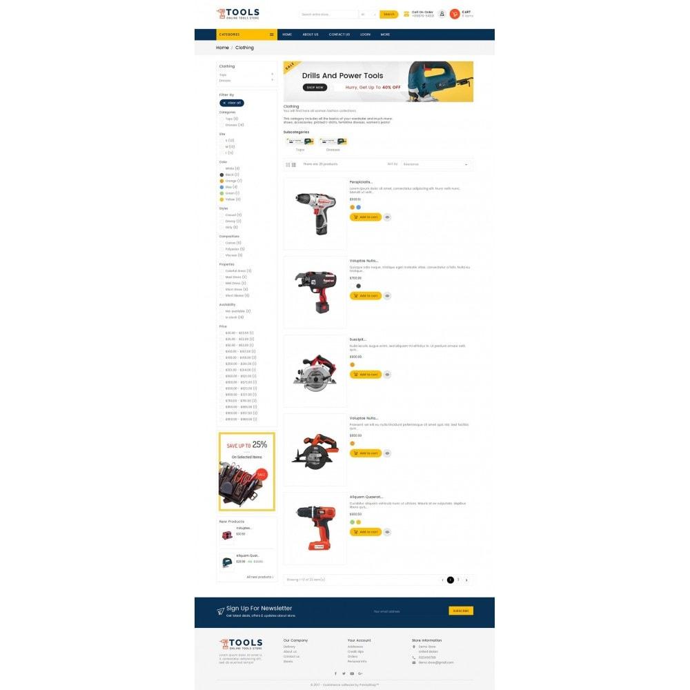 theme - Elektronik & High Tech - Mega Tools Store - 5