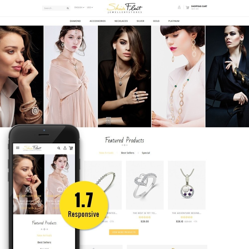 theme - Bijoux & Accessoires - Jewelry Store - 1