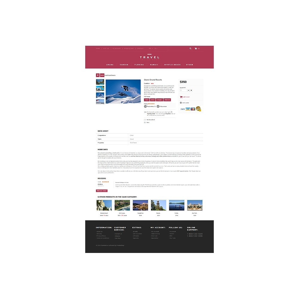 theme - Sport, Aktivitäten & Reise - Tour Agent - 6