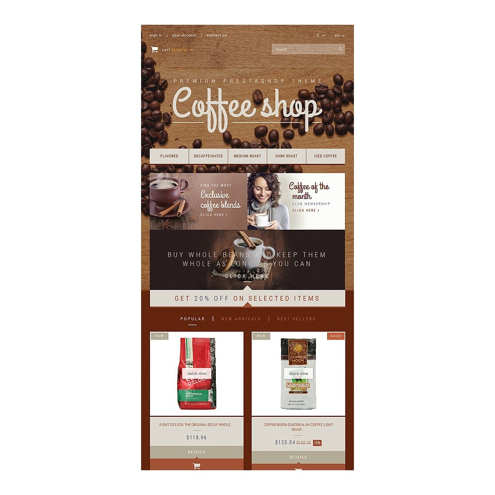 theme - Food & Restaurant - Coffee Aroma - 7