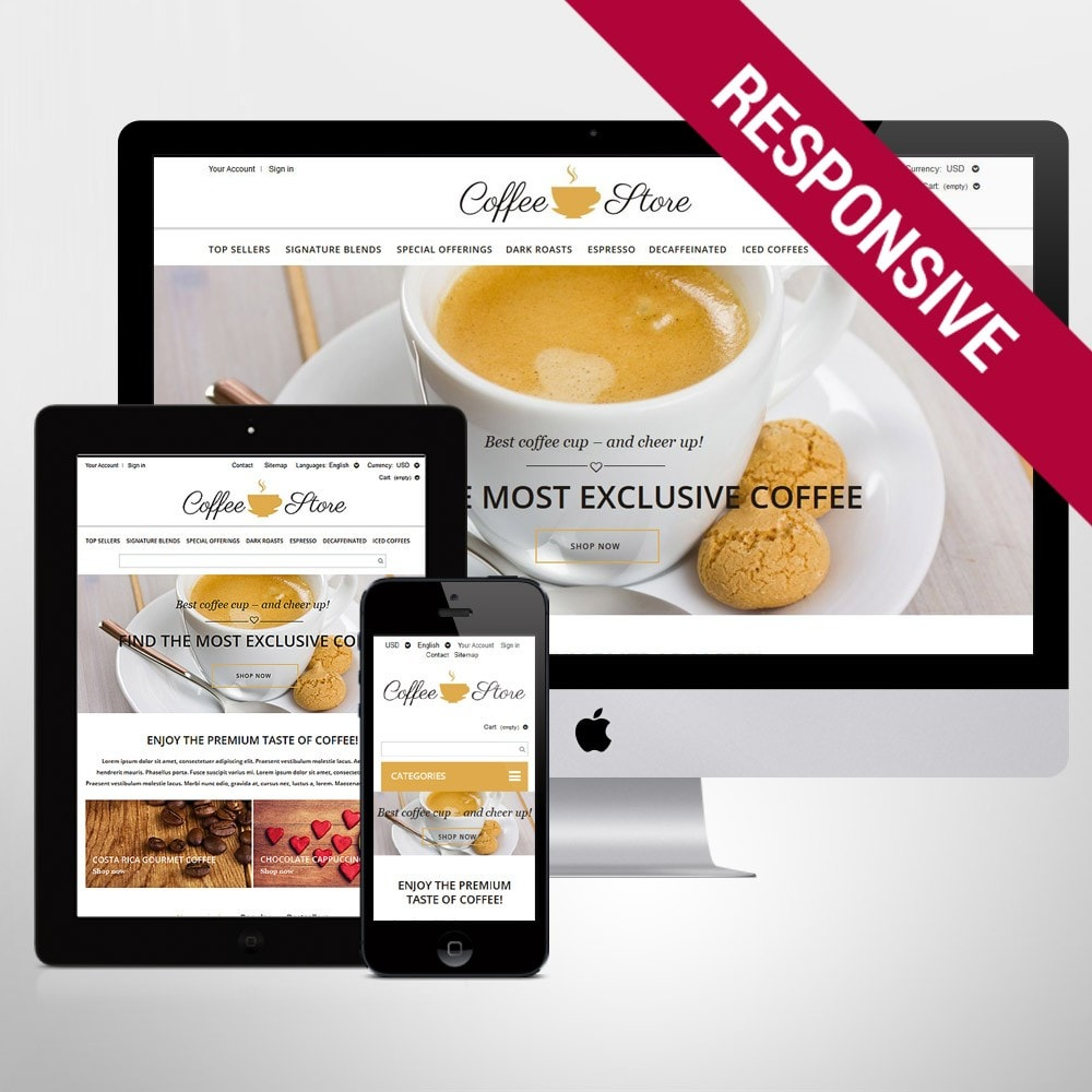 theme - Żywność & Restauracje - Coffee Shop - 1