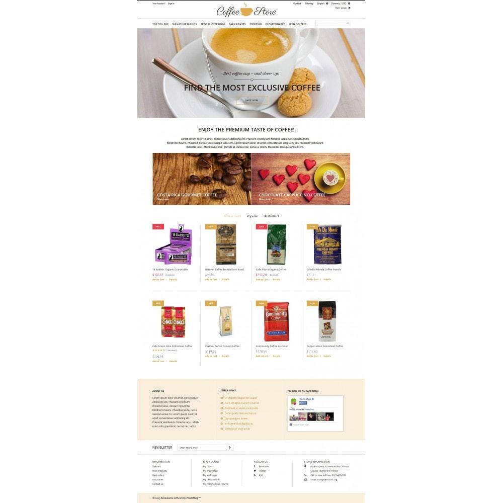 theme - Żywność & Restauracje - Coffee Shop - 4