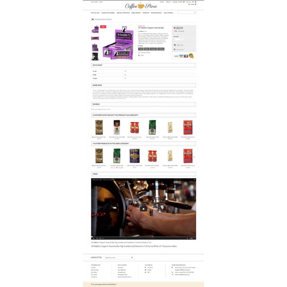 theme - Żywność & Restauracje - Coffee Shop - 6