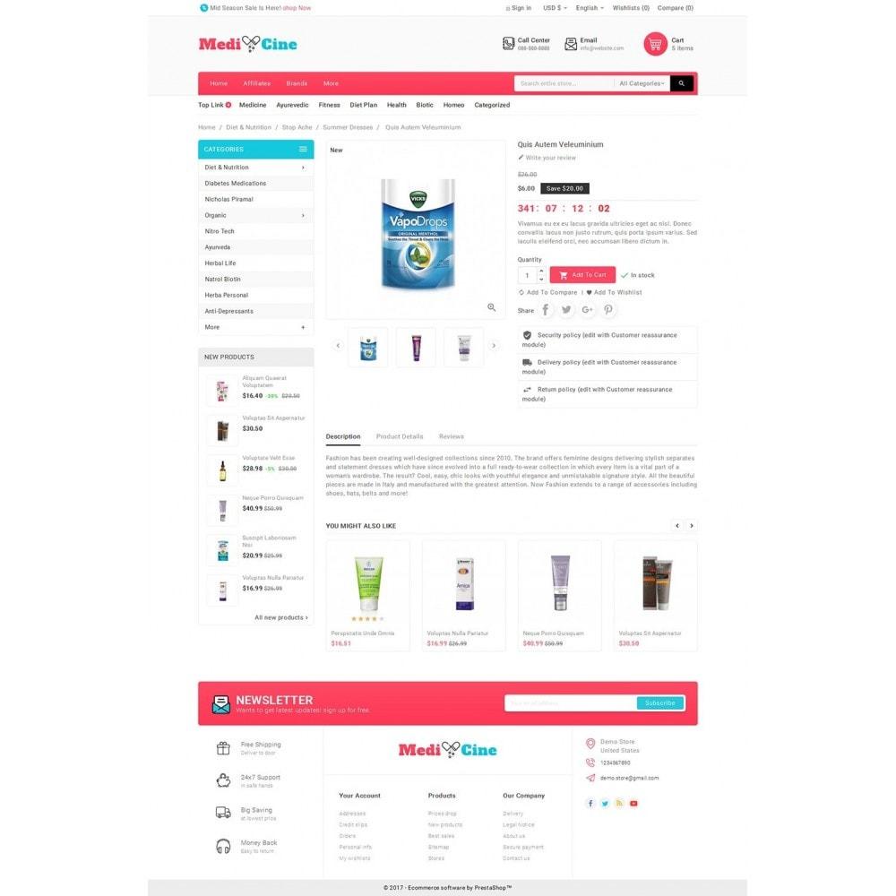 theme - Santé & Beauté - Medicine Mega Store - 6