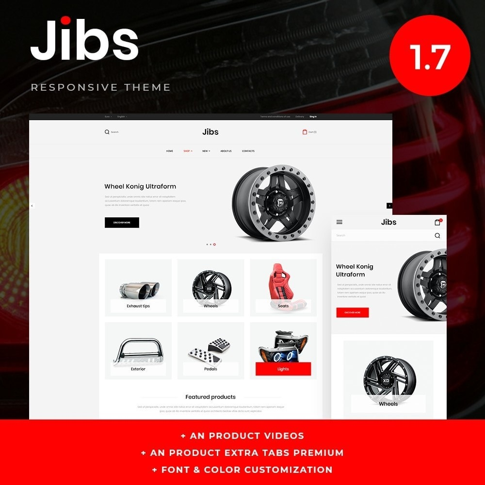 theme - Automotive & Cars - Jibs - 1