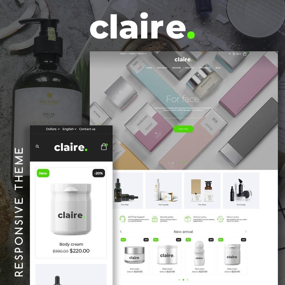 theme - Santé & Beauté - Claire Cosmetics - 1