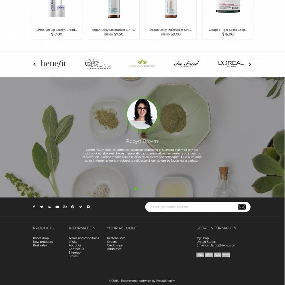 theme - Zdrowie & Uroda - Claire Cosmetics - 4