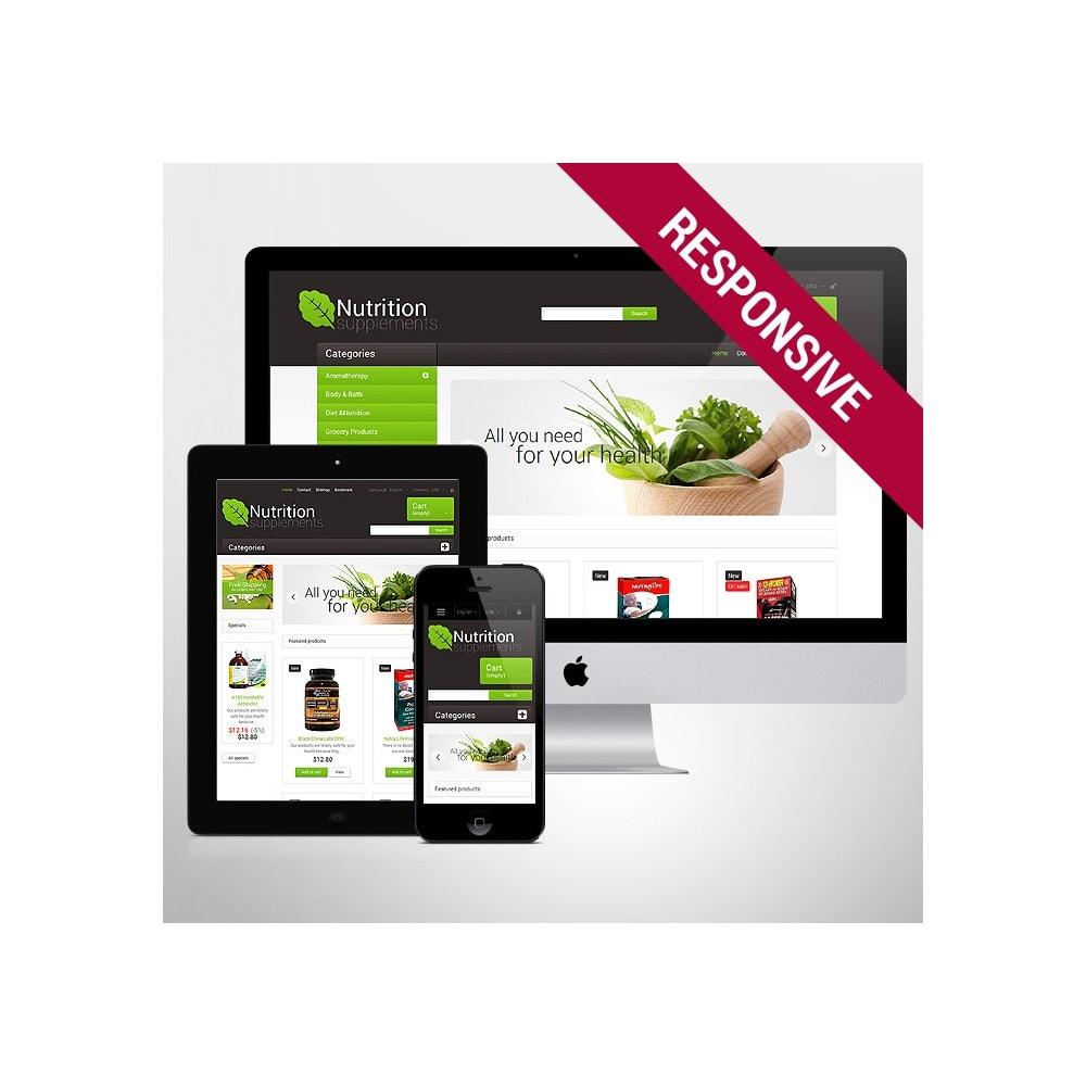 theme - Здоровье и красота - Nutrition Supplements - 1