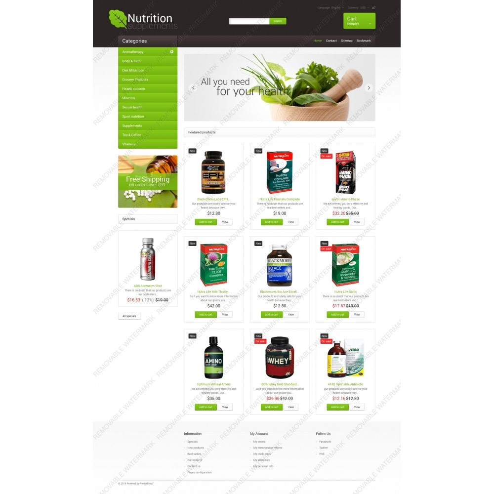 theme - Health & Beauty - Nutrition Supplements - 5
