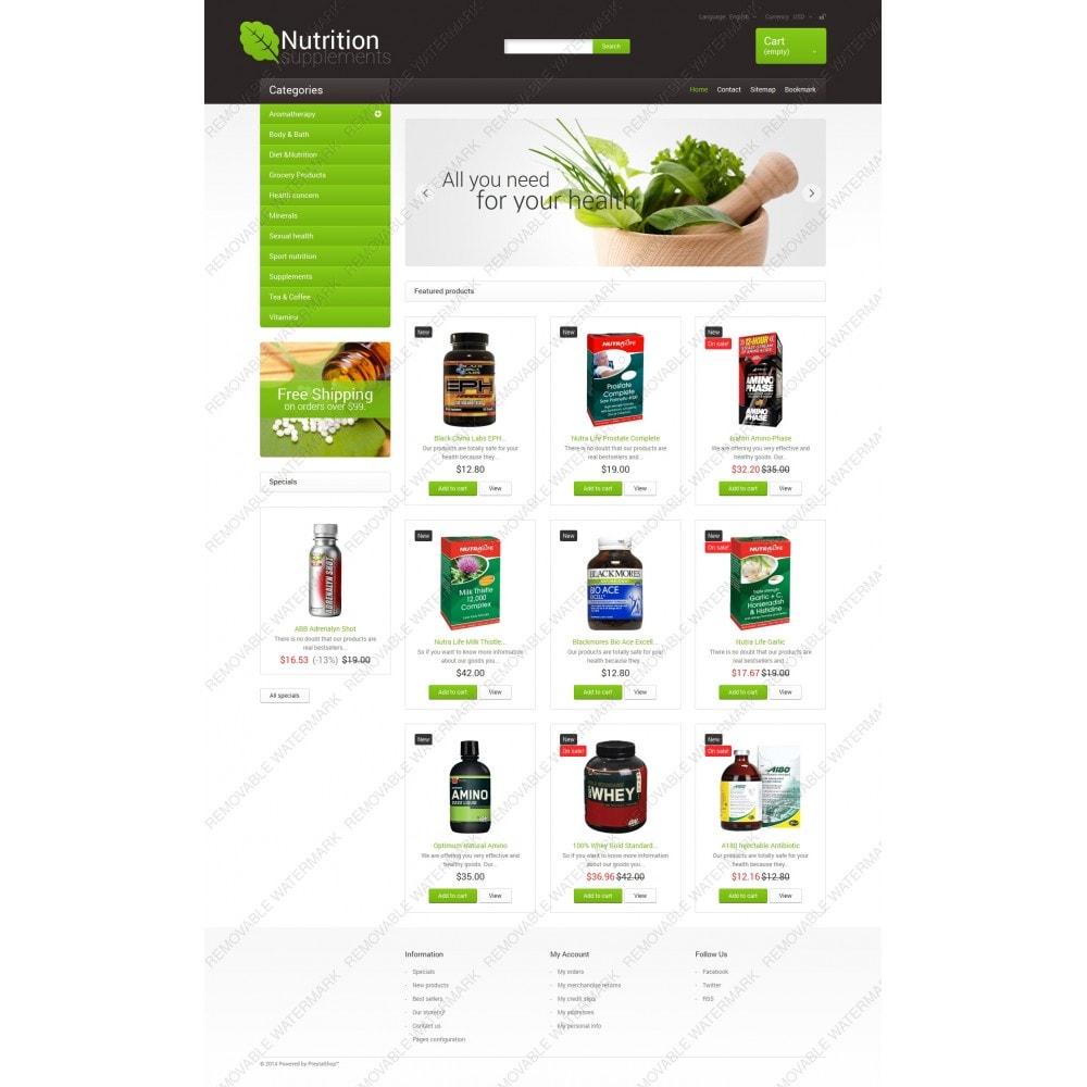 theme - Здоровье и красота - Nutrition Supplements - 5